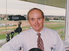 In the broadcast box at Rosehill mid 90s