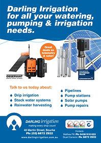 z Darling Irrigation advert 2019 quarter