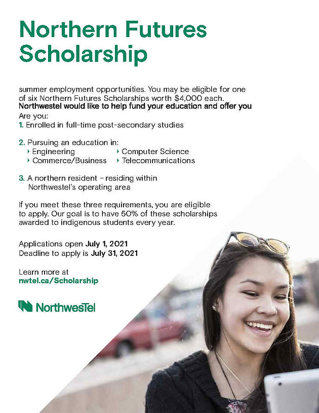 Northern Futures Scholarship 2021 - Lett