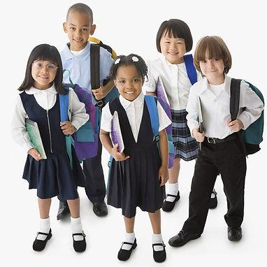 Boys' Uniform Front