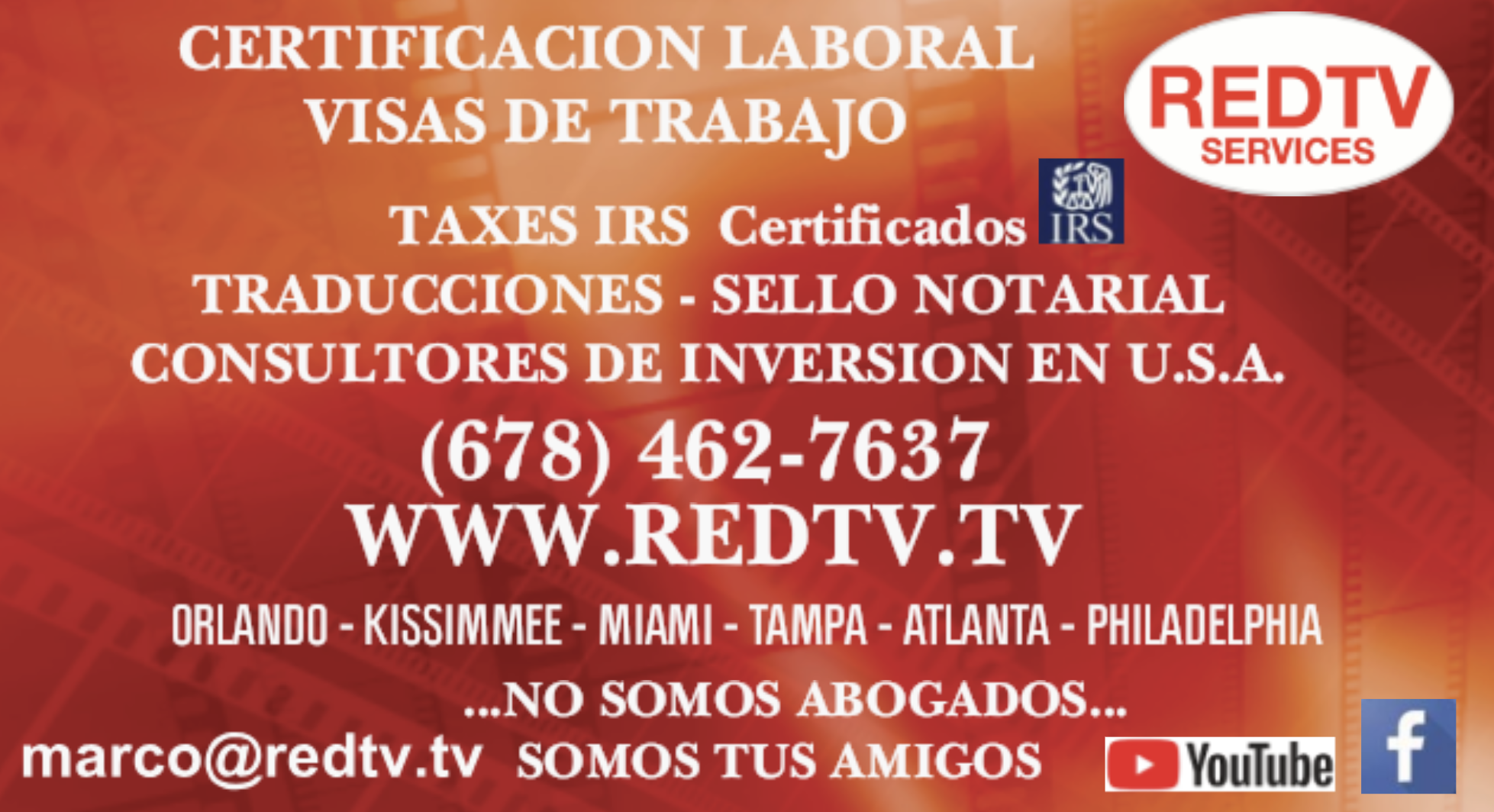 REDTV SERVICES