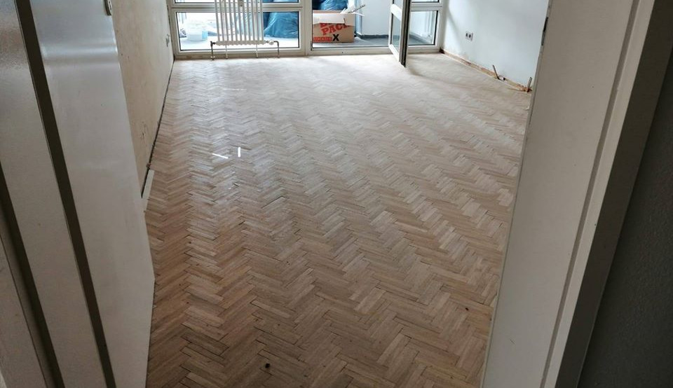 Fußbodenergänzung bei Sanierung