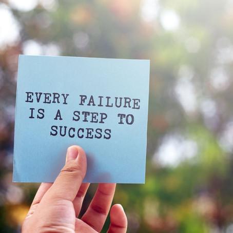 4 Reasons to Fail