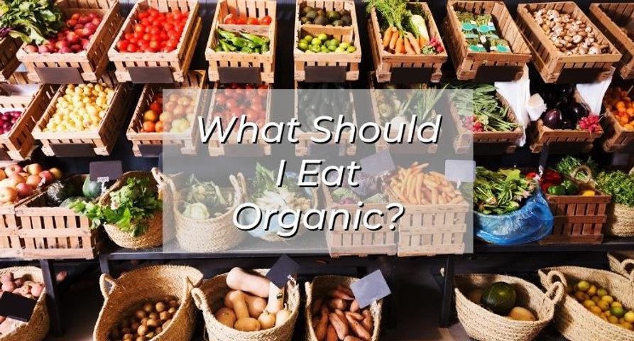 EHC  -  What Should I Eat Organic OptIn