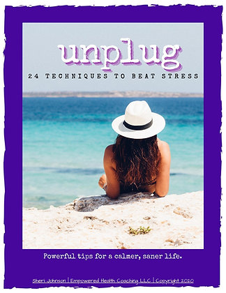 Unplug - 24 Techniques to Beat Stress eBook