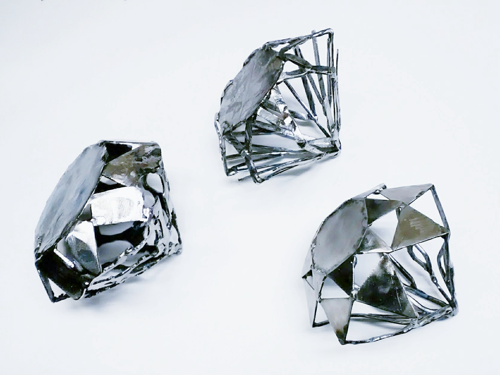 """Diamond in the rough #1-3"" 2019"