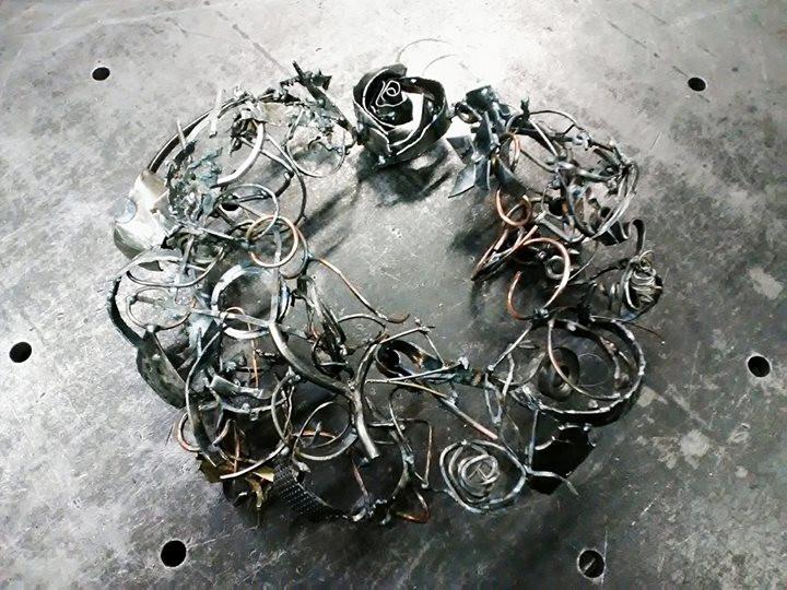 A rose wreath