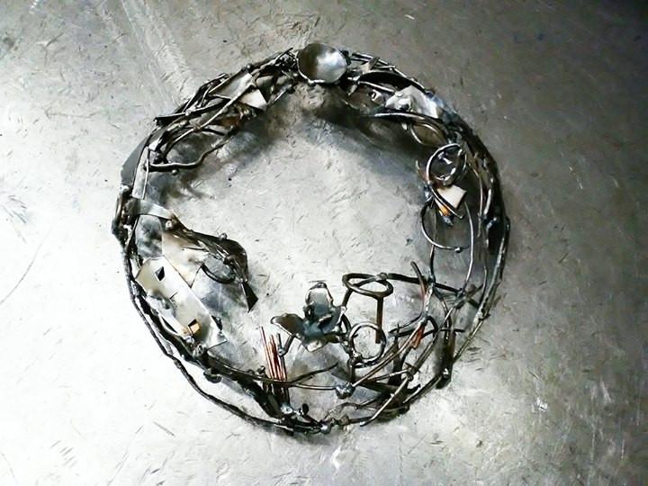 A moon wreath