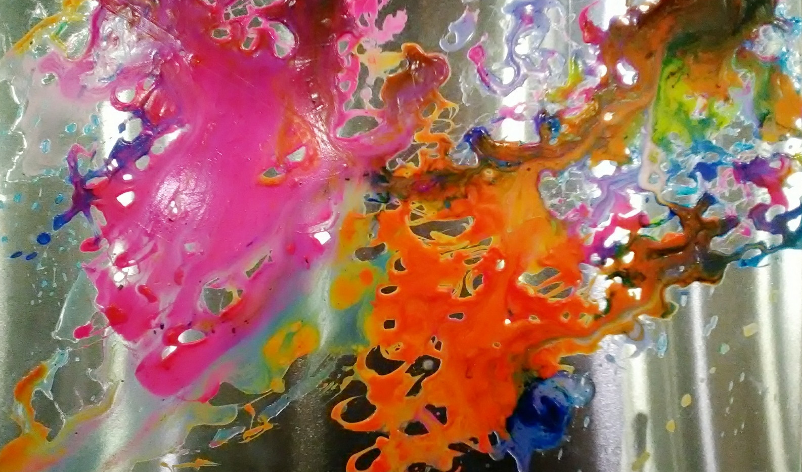 #1_acrylic painting on aluminum board