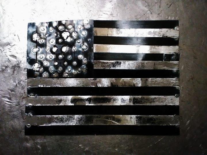 American flag_welding metals