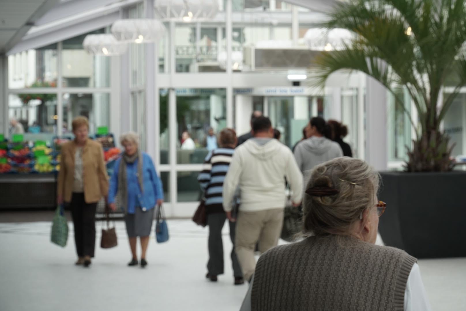 Innenansicht Rathausmarktgalerie