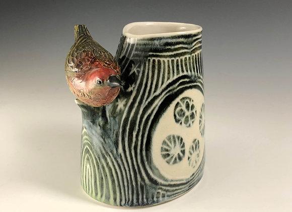 Bird Vase - Landscape 062