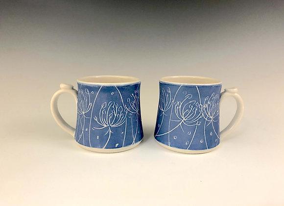 Mug, matte blue