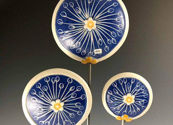 Garden Disc: Blue Umbellifers