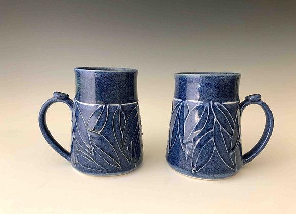 Mug - Navy Leaf