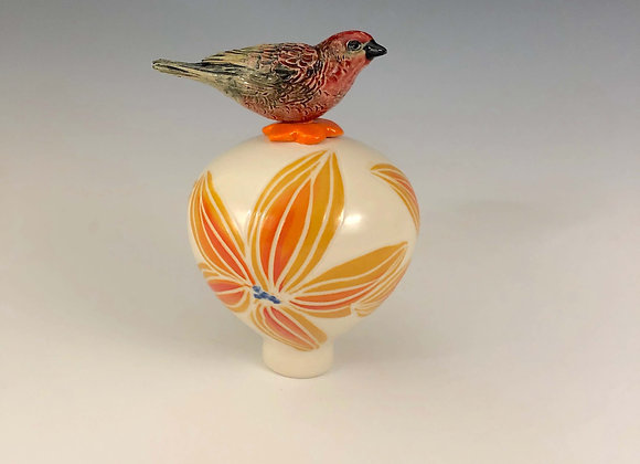 Wee Bird on a bauble