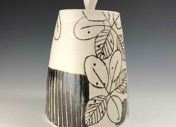 Smokebush Jar with lid
