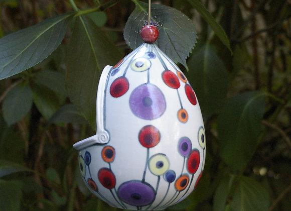 Pod Bird Feeder: Lolli Egg