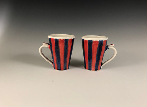 Mug - Circus red and blue