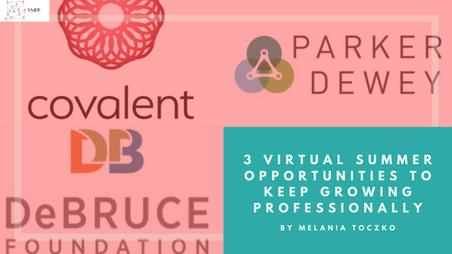 No Summer Internship? No Problem! 3 Virtual Summer Opportunities to Keep Growing Professionally