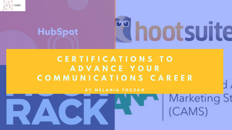 Certifications to Advance Your Communications Career