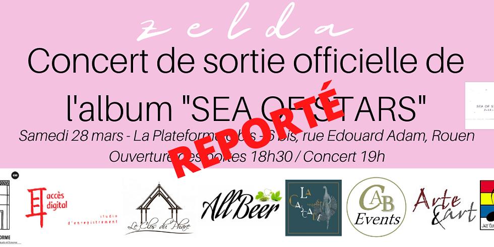 REPORTÉ - ZELDA - Concert de sortie officielle de l'album « Sea of stars »