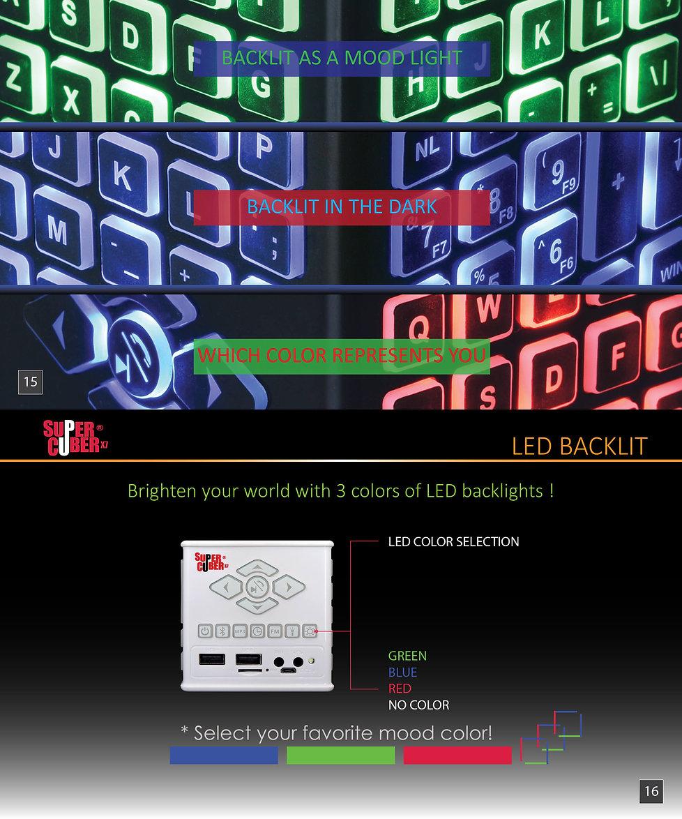 super cuber x7 LED