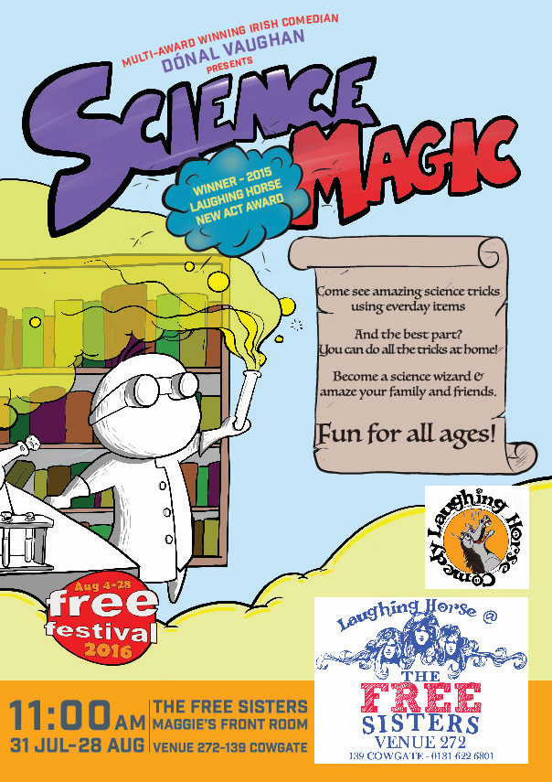 Science Magic Poster