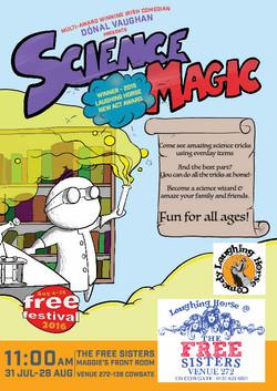 Science Magic Poster