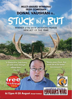 Stuck in a Rut Poster