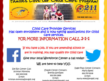 Child Care Services Available