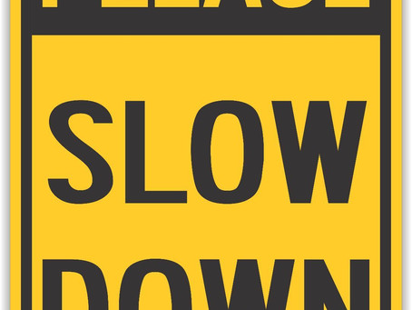 Please slow down or move over for the construction workers along Ann St./334.