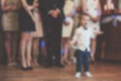 dzieci na weselu fotograf