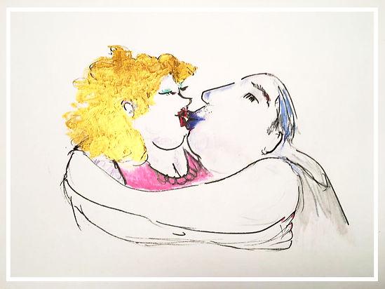 Paar küsst und umarmt sich | Sexualtherapeutin | Hamburg |