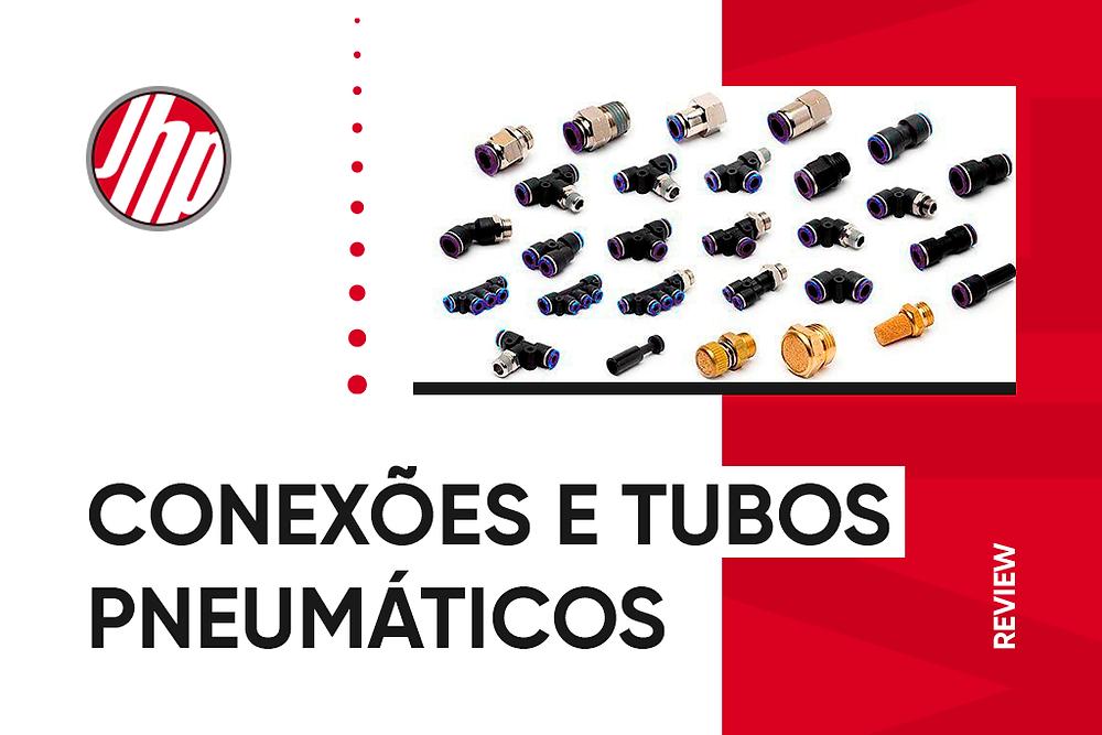 conexões e tubos pneumáticos