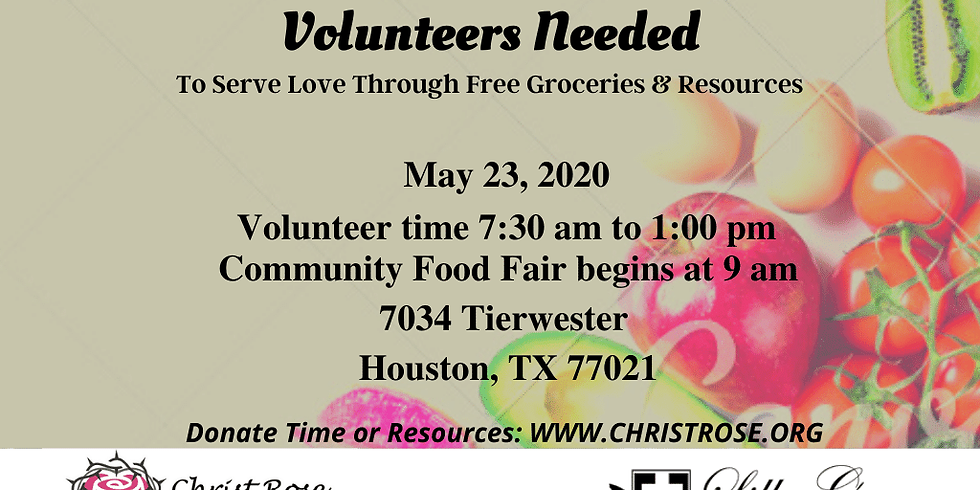 Christ Rose Foundation Community Food Fair