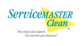 ServiceMaster Logo White Background with