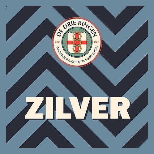 Doos Amersfoorts Zilver Klein (24x 33cl)