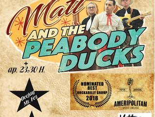 Matt & The Peabody Ducks=>Soprano Ryhthm Club (Caldes de Montbui)