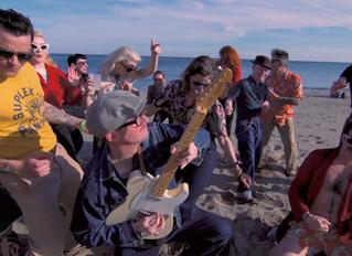 "The Kabooms ""Hip Shakin' Bash"" Videoclip en Ruta 66 Web Mag"