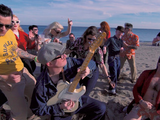 "The Kabooms ""Hip Shakin' Bash"" Videoclip en Ruta 66 Web Mag"