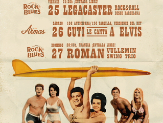 Legacaster:  Agosto-August Tour Dates