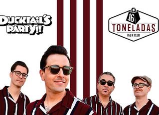 "The Kabooms. 8 Octubre. ""Ducktail's Party"" - 16 Toneladas. Valencia"