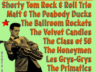 MONT-DORE RETRO ROCKIN FESTIVAL, FRANCE(27h-30th July)