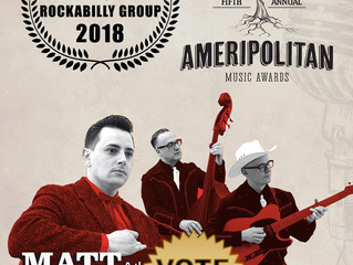 Ameripolitan Awards - Matt & The Peabody Ducks