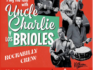 13/05/2017 UNCLE CHARLIE & LOS BRIOLES Soprano Rhythm Club, Caldes de Montbui