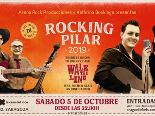 Walk The Line =>Rockin' Pilar 2019, Zaragoza