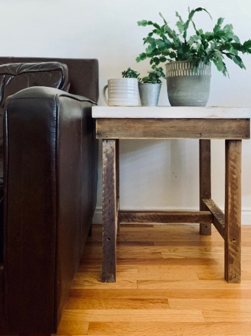 Wood art Side Tables - local pick up/calgary delivery only!!