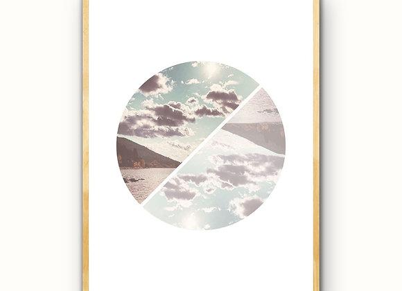 Clouds on Kootenay Lake - Downloadable Print