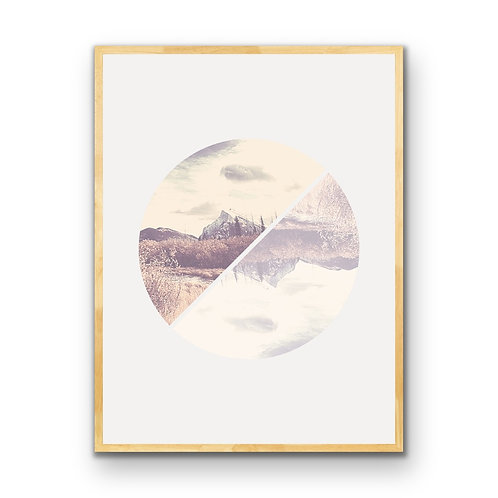 Rundle Reflections -Vintage Style Downloadable Print